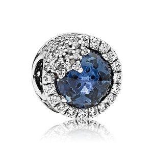 Pandora Jewelry - Pandora Blue Dazzling Snowflake Charm 796358NTB